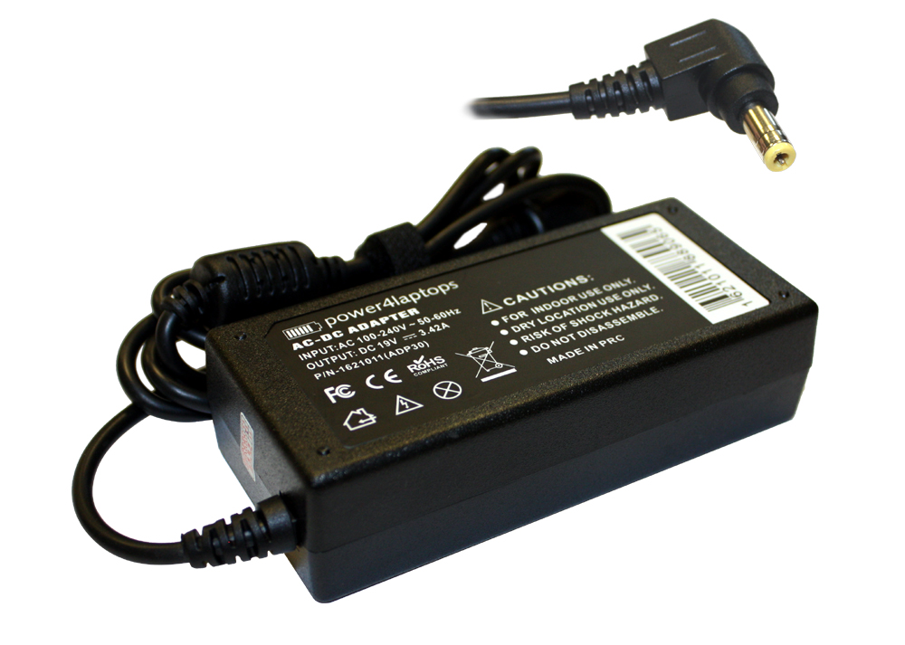 Acer Extensa 5635Z-434G3N Compatible Laptop Power AC Adapter Charger