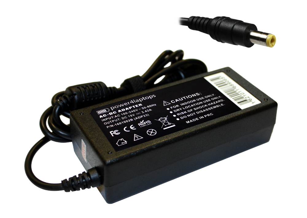 Acer Travelmate 5730G-6B4G32MN Compatible Laptop Power AC Adapter Charger