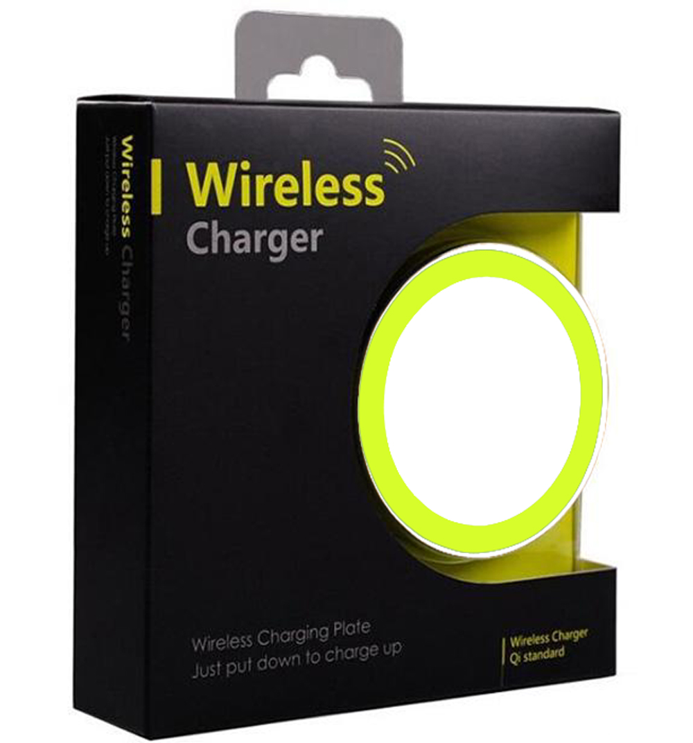Cargador-USB-inalambrico-para-HTC-WINDOWS-PHONE-8X-Blanco-con-Borde-Verde
