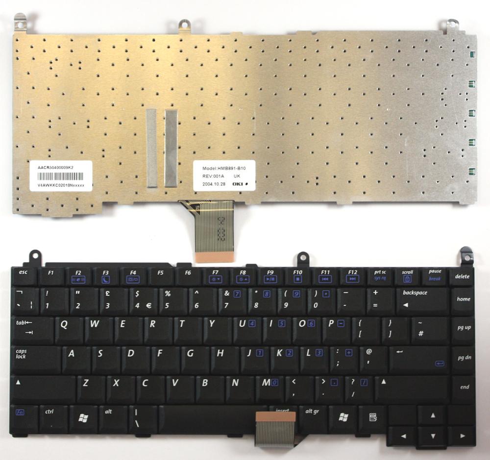 Layout-Reino-Unido-Negro-Teclado-para-E-Machines-M200