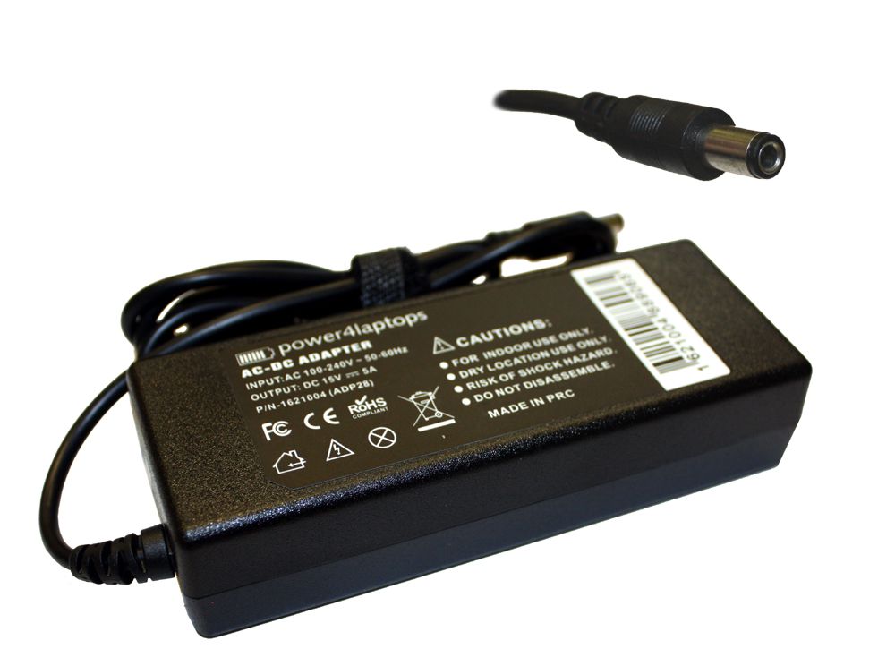Toshiba Portege A605 Compatible Laptop Power AC Adapter Charger
