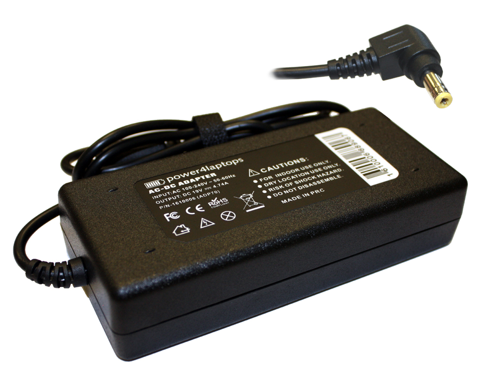 Toshiba Satellite L555D Compatible Laptop Power AC Adapter Charger